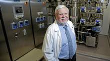 Bioniche founder Graeme McRae, one of the longest serving CEOs in the biotech sector. (Michelle Siu for The Globe and Mail/Michelle Siu for The Globe and Mail)