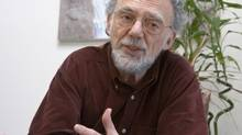 Psychologist Andrew Feldmar. (Christopher Grabowski for The Globe and Mail)