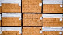 Canadian softwood lumber is pictured at the Port of Vancouver Lynnterm terminal in North Vancouver, British Columbia on February 13, 2015. (Ben Nelms For The Globe and Mail)