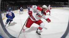 The New York Rangers had a dire need for help down the middle before acquiring Carolina Hurricanes captain Eric Staal ahead of Monday's trade deadline. (Bruce Bennett/Getty Images)