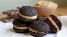 Chocolate peanut butter whoopie pie (Stephanie Eddie/Stephanie Eddy for The Globe and Mail)