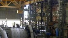 The Congolese state mining company Gecamines' copper concentrator is seen at its Kambove operation in the southern province of Katanga. At its peak, Gecamines was almost a state within a state. It directly employed more than 30,000 people and ran schools, hospitals, flour mills and vast swathes of arable land, much of which it still maintains, further draining its stretched finances. (STAFF/REUTERS)