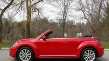 2013 VW Beetle Convertible (Petrina Gentile for The Globe and Mail)