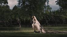 "Kirsten Dunst in ""Melancholia"" (Courtesy of eOne Films)"
