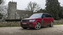 2017 Range Rover SV Autobiography Dynamic (Brendan McAleer/The Globe and Mail)
