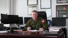 Chief of the Defence Staff General Jonathan Vance says he's tried to be transparent about how the Forces respond to issues around sexual assault and PTSD, but he says it's also created an impression his troops are mired in controversies. (Dave Chan For The Globe and Mail)