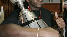 Edmonton Eskimos Rashad Jeanty in 2005 (Ryan Remiorz/The Canadian Press)