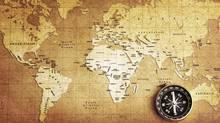 map and compass (Photos.com)