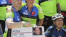 In memory of their son Alex, Len and Frances Pace, along with many supporters have raised more than $1-million for children's cancer charities. (MARY CUTTINI FOR THE GLOBE AND MAIL)