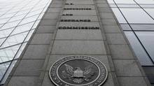 The Securities and Exchange Commission headquarters in Washington. (AP)