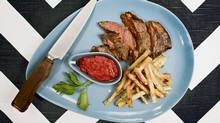 Grilled bison steaks (Peter Power for the Globe and Mail)