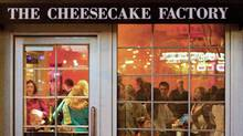 The Cheesecake Factory restaurant in Denver, Colorado, U.S., on Friday, March 11, 2011. (Matthew Staver/Bloomberg)