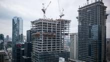 A condominium development under construction in Toronto. (Ian Willms For The Globe and Mail)
