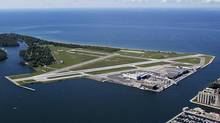 Toronto's island airport is a proven asset, but it's hard to see how the economic benefits of jets outweigh the risks (Michelle Siu/The Canadian Press)
