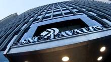 The SNC-Lavalin offices in downtown Montreal. (Mario Beauregard/The Canadian Press)