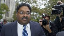 Raj Rajaratnam, co-founder of Galleon Group LLC, arrives at Federal Court for sentencing on Oct. 13, 2011 in New York. (Jin Lee/AP/Jin Lee/AP)