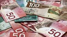 Canadian currency is seen in this file photo. (Andrei Tselichtchev/Getty Images/iStockphoto)