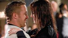 "Ryan Gosling and Emma Stone in a scene from ""Crazy, Stupid, Love."" (Ben Glass/AP/Warner Bros)"
