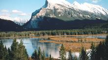 Rundle Mountain in Banff, Alta. (Jupiter Images)