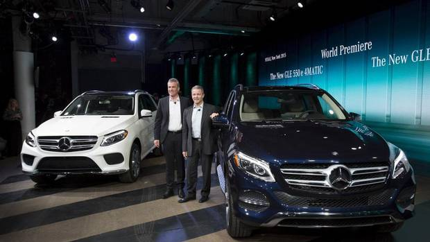 mercedes renames suv and offers hybrid which won t be coming to canada the globe and mail. Black Bedroom Furniture Sets. Home Design Ideas