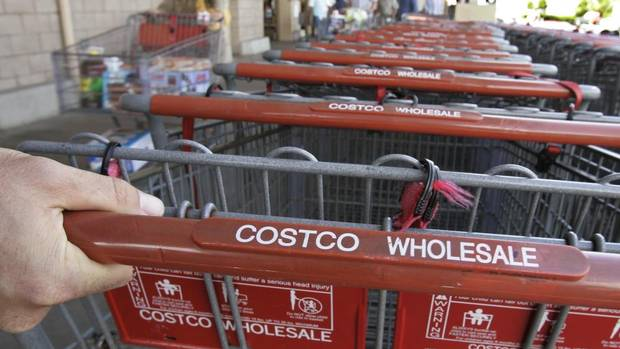 costco profit rises on higher membership fees the globe and mail. Black Bedroom Furniture Sets. Home Design Ideas