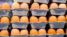 Stacked cartons of eggs (Jupiterimages/Getty Images)
