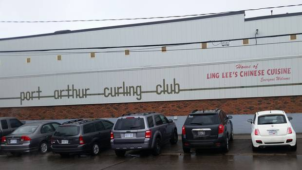 The Port Arthur Curling Club in Thunder Bay, Ont., is one of three in that city with Chinese restaurants inside.