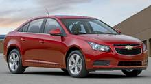 2011 Chevrolet Cruze. (GM/General Motors)
