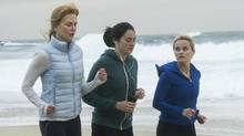 Big Little Lies' Nicole Kidman, left, Reese Witherspoon, right, and Shailene Woodley's characters represent the healthiest, best-looking, most privileged cohort in human history, but they still can't figure out how to be happy. (Big Little Lies/HBO)