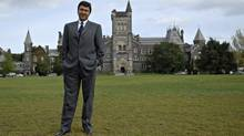David Naylor, President of the University of Toronto. (Philip Cheung for The Globe and Mail/The Globe and Mail)