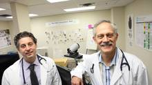 Dr. Dante Morra and Dr. Howard Abrams, co-founders of the Centre for Innovation in Complex Care. (Deborah Baic/The Globe and Mail)