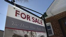 File photo of a house for sale in Toronto. (Fred Lum/Fred Lum/The Globe and Mail)