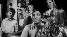 Author John Updike with his wife and children: David is the boy at the back. (Truman Moore/Truman Moore)