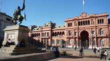 Photo credit: Domini Clark tripping-architecture21tr1 Cutline: Plaza de Mayo, Buenos Aires. Presidential building (Domini Clark/The Globe and Mail)