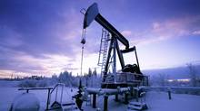 A pumping oil rig in Norman Wells. Operated by Imperial Oil Ltd. (JOHN LEHMANN/JOHN LEHMANN/THE GLOBE AND MAIL/)