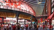 The new home of the Detroit Red Wings is to open next fall.