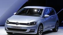 Volkswagen Golf Bluemotion (Michel Euler/AP)
