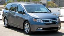 2011 Honda Odyssey (Richard Russell for The Globe and Mail)