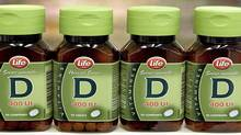 Vitamin D sits on a shelf in a Dartmouth, N.S. drug store in June, 2007. (ANDREW VAUGHAN/CP)