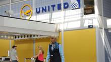 The United Airlines terminal at O'Hare International Airport on April 12, 2017, in Chicago, Ill. (JOSHUA LOTT/AFP/Getty Images)