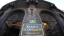 Saving Slovenia's banks appears to be the key to saving Slovenia. (SRDJAN ZIVULOVIC/REUTERS)