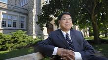 Dr. Amit Chakma, the President of the newly-named Western University, is photographed on campus in London, Ont. Sept. 4, 2009. Mr. Chakma is the driving force behind the rebranding of the university. (Kevin Van Paassen/THE GLOBE AND MAIL)
