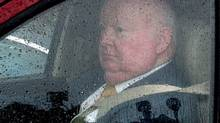 Mike Duffy leaves Parliament Hill last year. (FRED CHARTRAND/THE CANADIAN PRESS)