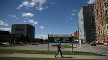 The federal government is considering a plan to develop a government-owned parcel of land known as Tunney's Pasture, west of Ottawa's downtown core. (Dave Chan for The Globe and Mail)