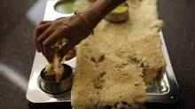 Rava Masala Dosa from The Nilgiris (Fred Lum/Fred Lum/The Globe and Mail)