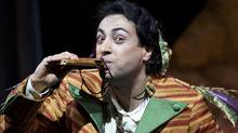 """Rodion Pogossov as Papageno in the Canadian Opera Company production of """"The Magic Flute"""" (Michael Cooper)"""