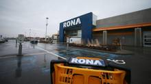 Rona is struggling to downsize its unwieldy operations. (Christinne Muschi For The Globe and Mail)