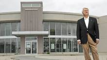 Jerry Gazarek, who once owned a Pickering, Ont., Chevy-Cadillac dealership before he was forced out after 32 years, stands at the now-vacant dealership, May 1, 2012. Mr. Gazarek is part of a class-action lawsuit against General Motors and law firm Cassels Brock and Blackwell. (Michele Siu for The Globe and Mail/Michele Siu for The Globe and Mail)