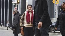 Adnan Almekdad is photographed outside his Toronto school where he is studying English on Nov. 30, 2016. (JENNIFER ROBERTS/JENNIFER ROBERTS FOR)