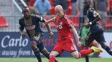 Toronto FC captain Michael Bradley has lambasted Major League Soccer and the Canadian Soccer Association for an overloaded schedule that sees TFC play six games in 19 days. (Reuters/USA Today Sports)